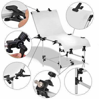 Product Still Life Photography Shooting Photo Table Kit Non-Reflective PVC Broad