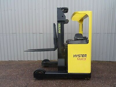 HYSTER R2.0. 5500mm LIFT USED REACH FORKLIFT TRUCK. (#2736)