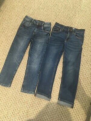 2 Pairs Of Boys Next Jeans Age 6