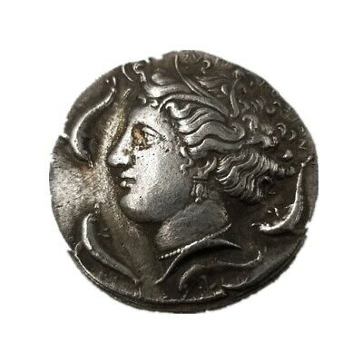 Rare Silver Plated Greek Coin Ancient Alexander III The Great Greek Coin Collect