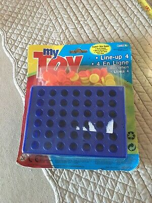 Travel Size Game Line Up 4 Like Connect Four
