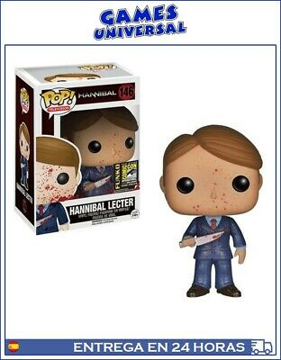Funko Pop Hannibal Lecter 146 Exclusive Convention Sandiego