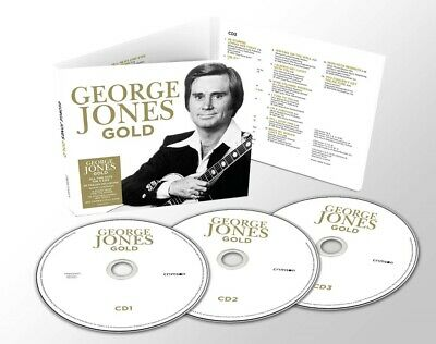 GEORGE JONES GOLD 3 CD SET (48 TRACK COLLECTION) (Released March 20th 2020)