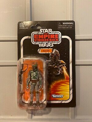 Star Wars 3.75 Vintage Collection BOBA FETT VC09 Reissue 2019 New On Card