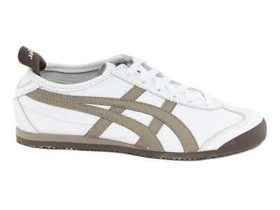 Onitsuka Tiger Mexico 66 Trainers - White/Sand - Size UK 7