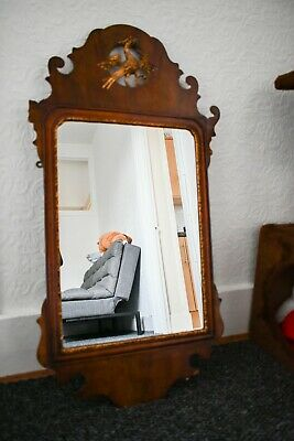 Antique mirror dated 1741 London  Georgian hand carved