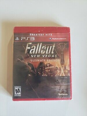 Fallout: New Vegas Ultimate Edition (Sony Playstation 3) PS3 NEW SEALED