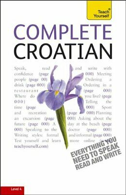 COMPLETE CROATIAN: A TEACH YOURSELF GUIDE (TY: LANGUAGE By David Norris *VG+*