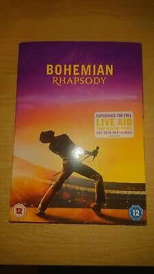 Bohemian Rhapsody DVD Queen new and sealed