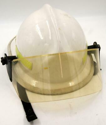 Firefighting Helmet Fire Rescue Cairns Metro 660c With Face Shield Cream