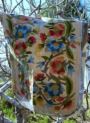 An early to mid 20th C Greek Embroidery Textile Panel Cushion Cover/Wall Art