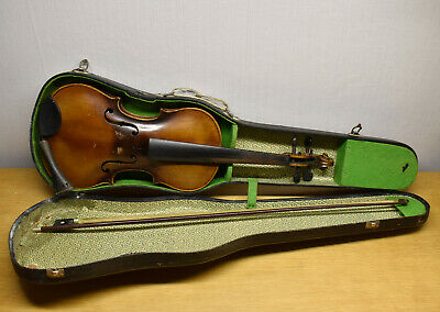 Antique German STAINER  Violin with Bow & Case