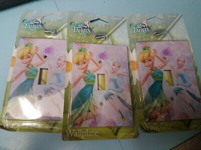 Variations Tinkerbell Light Switch Wall Outlet Plate Cover #3