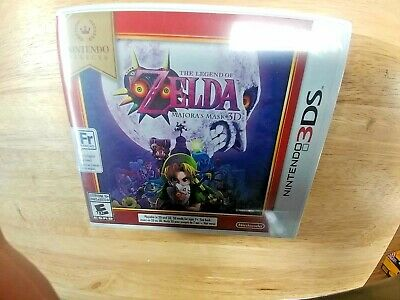 NEW Legend of Zelda: Majora's Mask 3D BRAND NEW NINTENDO SELECTS 3DS