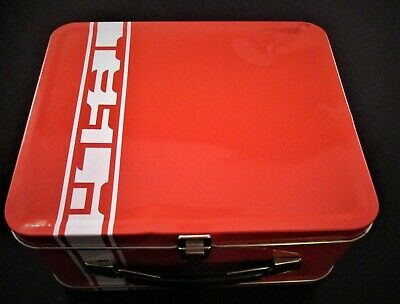 New Tesla Motors Lunchbox Collectible Lunch Tin Tesla Accessory Rare