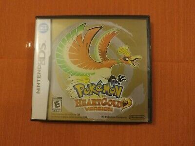 Pokemon Heartgold Version (Nintendo DS, 2009) authentic with Case No Manual CDN