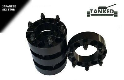 Ford Ranger Wheel Spacers 4 x 38 mm  Black 110 Centres