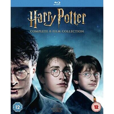 Harry Potter: The Complete Blu-Ray Box Set Used