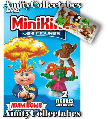 Garbage Pail Kids MiniKins SERIES 1 SEALED PACK Like Cheap Toys 2013 USA