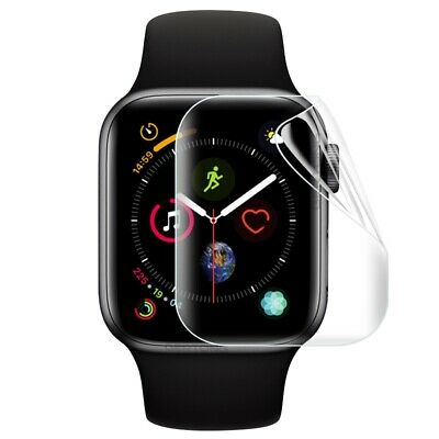Apple Watch Series 5 & 4 44mm Hydrogel Film Cover Front Protector Folie Schutz