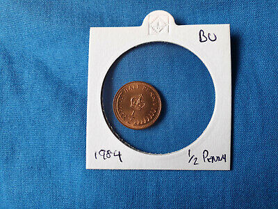 1984 The Royal Mint Half Penny 1/2p coin Brilliant Uncirculated UK