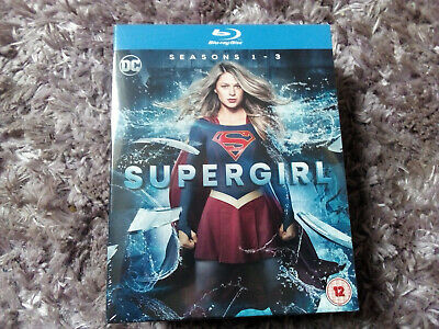 Supergirl - Complete Seasons 1-3 (Blu Ray Boxset) New & Sealed