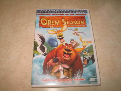 Open Season (DVD, 2007, Canadian, Full Screen Sp Edition) - Eng/French/Spanish