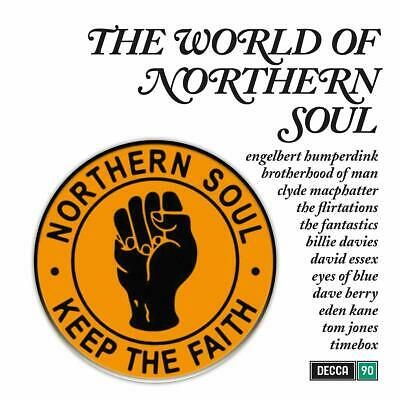 THE WORLD OF NORTHERN SOUL VINYL LP - Various Artists (Released 28/02/20)