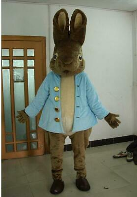 Hot Easter Lovely Rabbit Mascot Costume Suit Cosplay Christmas Fancy Dress Adult