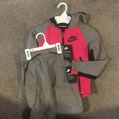 Nike Tech Pack Nsw G Fleece Tracksuit 6-7 Yrs