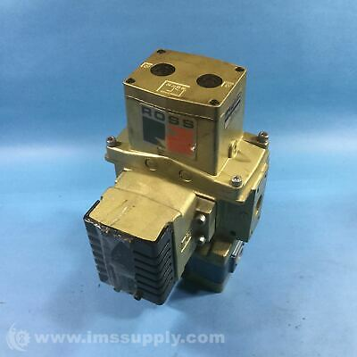 Ross 3573A4201 Pneumatic Safety Double Valve USIP