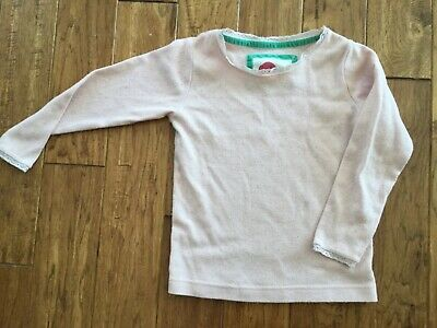 Mini Boden Girls Long Sleeve Top Size 6-7Y