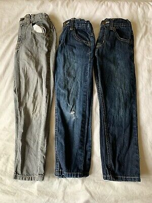 Bundle of 3 pairs boys jeans, age 7, ex cond