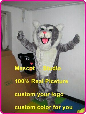 Leopard Mascot Costume Suit Cosplay Party Game Dress Outfit Halloween Fancy 2020
