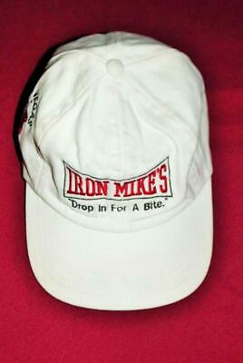 "Vintage 1997 Las Vegas' Iron Mike's ""Drop In For A Bite"" Boxing Hat / Cap"