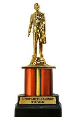 The Office Dundie Award Trophy Show Me The Money Collectible Statue NBC Series 1