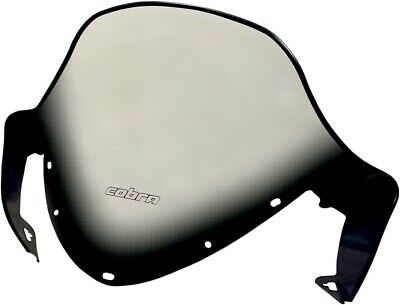 """1998-1999 Polaris Indy XLT Classic 600 10/"""" Flared Solid Black Windshield"""
