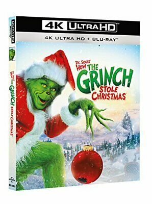 |231329| Grinch (Il) (Blu-Ray 4K Ultra HD+Blu-Ray) - How The Grinch Stole Christ