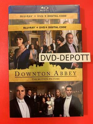 Downton Abbey (2019) Blu-ray + DVD + Digital & Slipcover New FAST Free Shipping