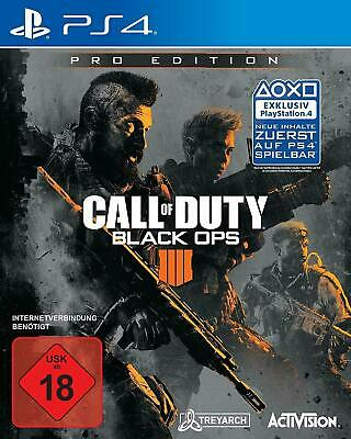 Call of Duty Black Ops 4 pro Edition for ps4 New German version