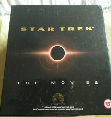 Star Trek.. The Movies 1-8. VHS Video Box Set.. Good Condition.. Used..