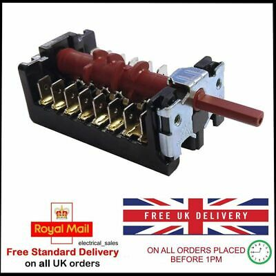 Genuine Howden Oven 6 Positions Multifunction Selector Switch
