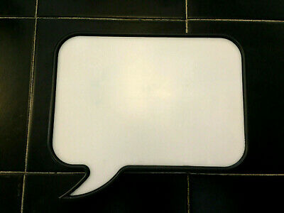Write Draw Sketch Sign Plaque Neon USB Display A4 Speech Bubble Light-Up Box