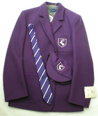Daiglen Boys School Uniform Blazer 36 inch Chest , Jumper, Cap & Tie