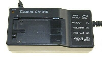 Canon UC-V100 EOS C100 Mark II G30Hi XL2 Power Supply CA-920 Charger CH-910