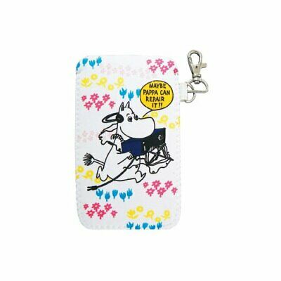 Moomin soft pencil case spacecraft White