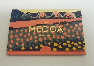 MECCA Gift Card $300 Value in Stunning Envelope Packaging NO EXPIRY FREE POSTAGE