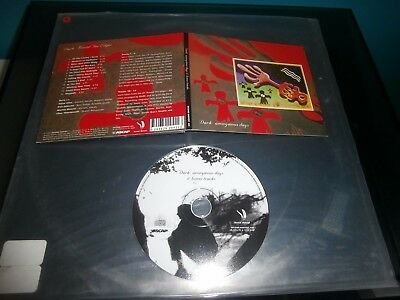 Cd Dark Anonymous Days Second Harvest Record Digipack Comme Neuf