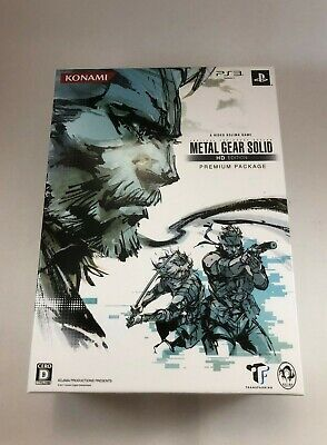Metal Gear Solid HD Edition Premium Package; PS3; Japan Import