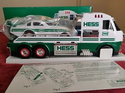2016 HESS TOY TRUCK AND DRAGSTER FUNNY CAR ANNUAL Authentic NIB